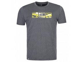 Kilpi Giacinto-m tmavě šedá  pánské triko