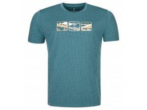 Kilpi Giacinto-m tyrkysová  pánské triko