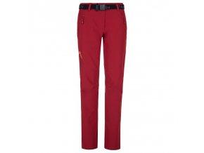 Kilpi Wanaka-w tmavě červená  dámské kalhoty