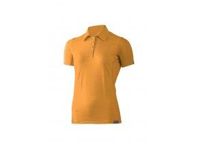 Lasting dámská merino polo košile ALISA hořčicová