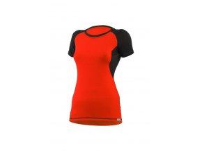 Lasting dámské merino triko ZITA červené
