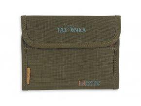 tatonka euro wallet rfid b olive 1