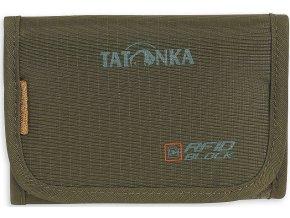 tatonka folder rfid b olive 1