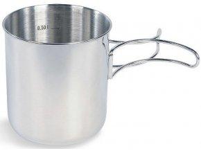 tatonka handle mug 600 silver 1