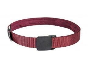 tatonka travel waistbelt 30mm bordeaux red 1