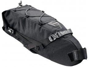 topeak bikepacking backloader rolovaci brasna na sedlovku 10l cerna 1