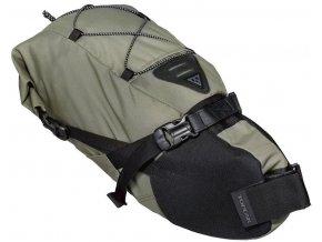 topeak bikepacking backloader rolovaci brasna na sedlovku 10l zelena 1