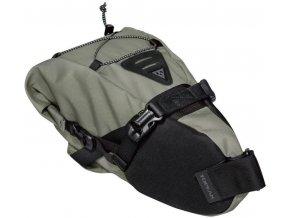 topeak bikepacking backloader rolovaci brasna na sedlovku 6l zelena 1