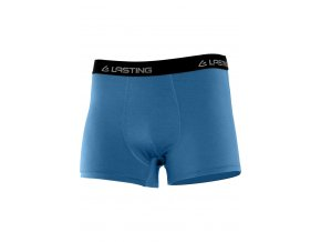 Lasting pánské merino boxerky NORO modré