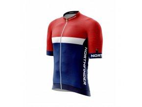 northfinder pansky cyklisticky dres vincenzo bluered tr 35561mb 286 01