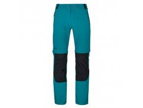 Kilpi Hosio-m tyrkysová  pánské kalhoty + kód pro dodatečnou 20% slevu: 20NAVSECHNO