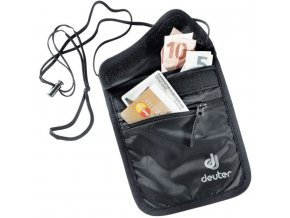 deuter security wallet ii 3942116 black