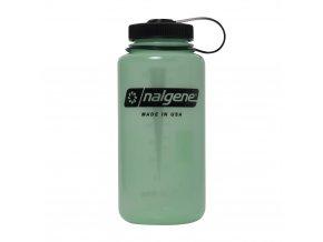 Nalgene Wide Mouth Glow Green 1000 ml - 2178-2031