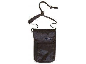 tatonka skin neck pouch black 1