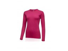 Lasting dámské merino triko LADA  růžová