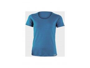 Lasting dámské merino triko IRENA modrá
