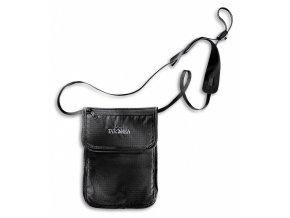 tatonka skin folded neck pouch black 1