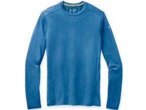 smartwool m merino 150 baselayer long sleeve boxed ocean blue 01