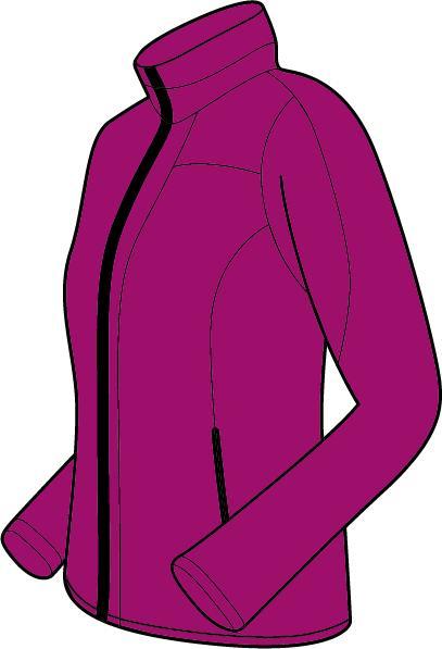 Trimm Line purple Velikost: S
