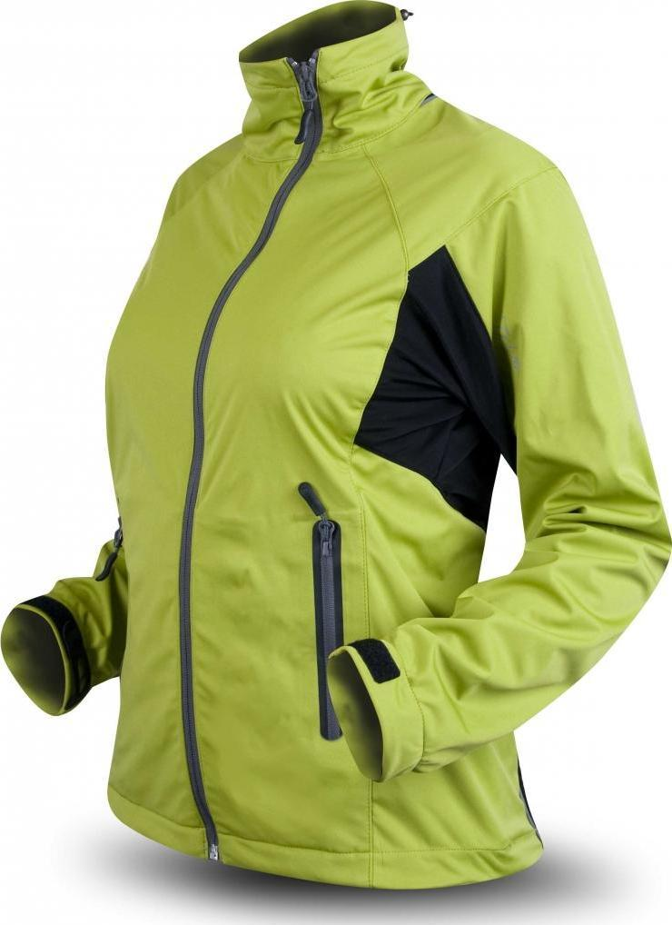 Trimm X-Trail Warm Green / Black Velikost: S dámská bunda