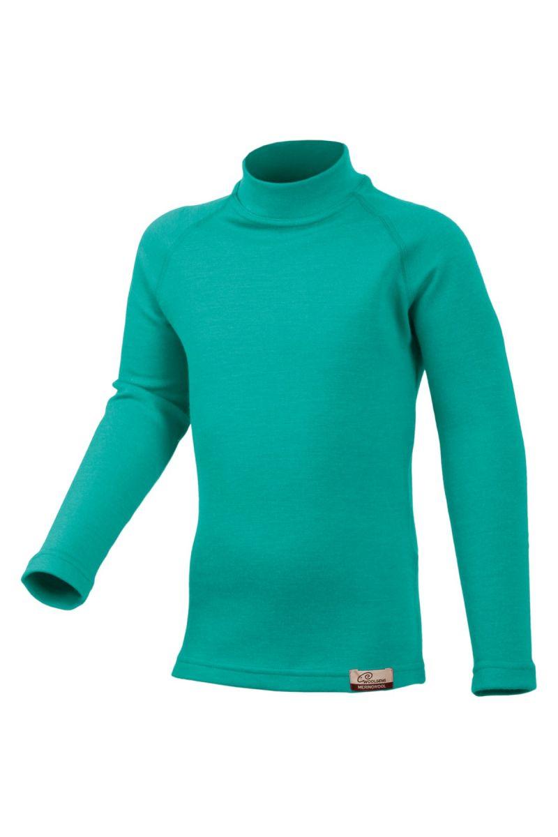 Lasting SONY 6565 zelená Vlněné Merino triko Velikost: 120