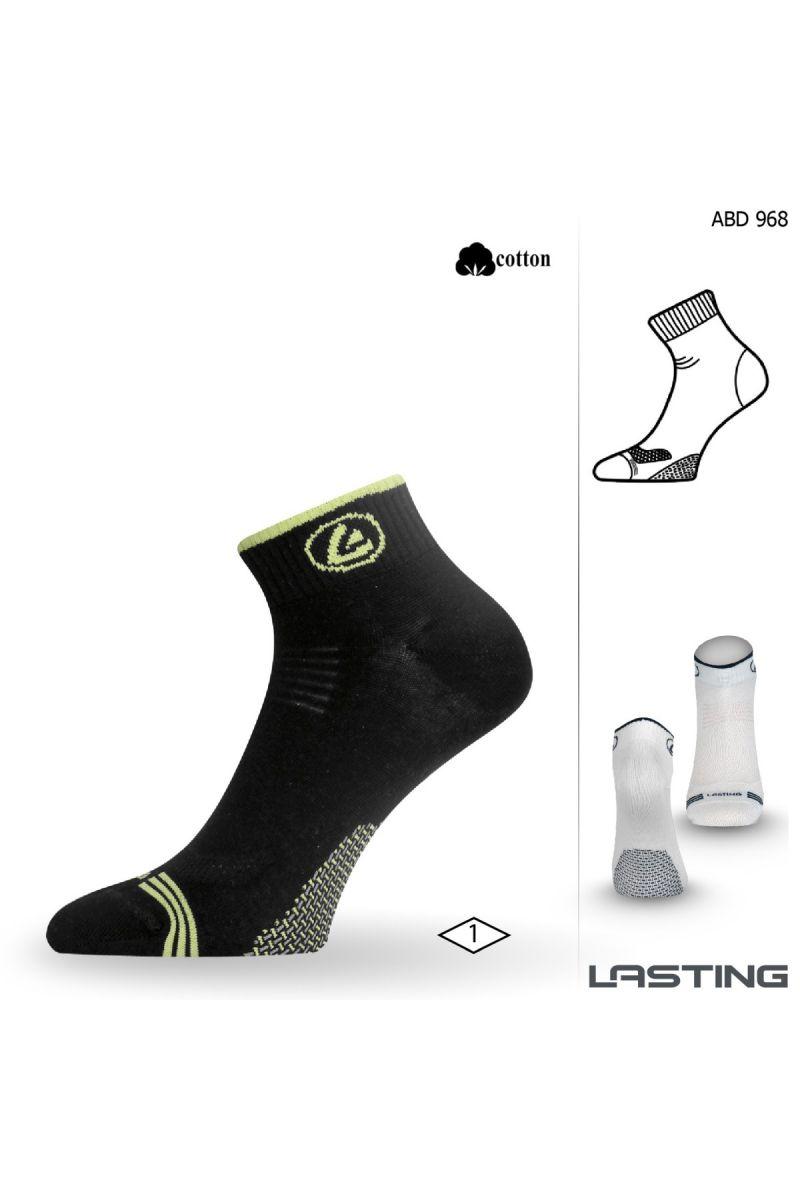 Lasting ABD ponožky pro aktivní sport 968 černá Velikost: (38-41) M