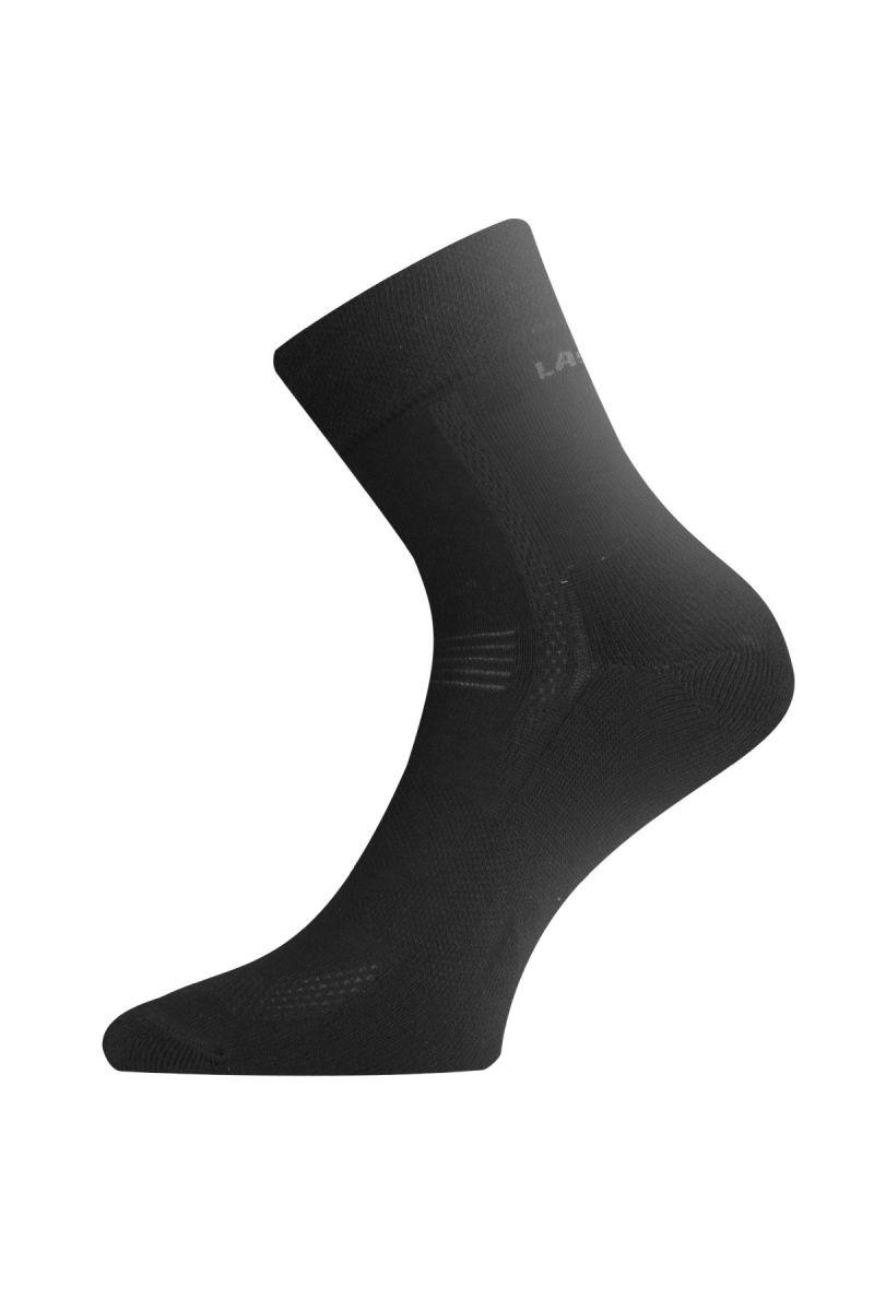 Lasting AFE 900 černé ponožky pro aktivní sport Velikost: (42-45) L