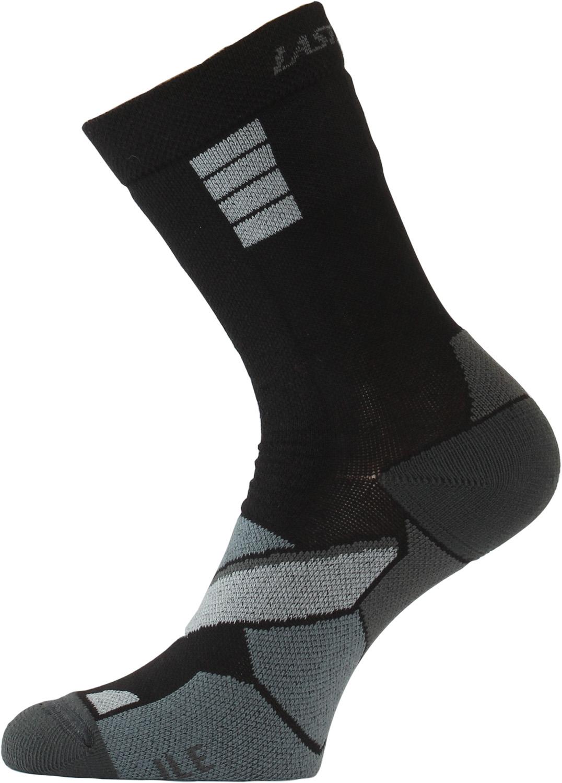 Lasting ILE 989 černá Inline ponožky Velikost: (34-37) S