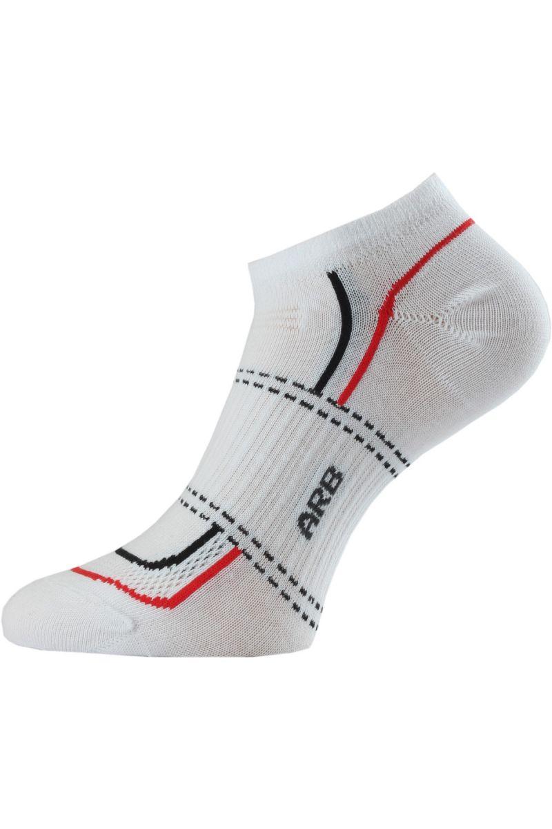 Lasting ARB ponožky pro aktivní sport bílá Velikost: (34-37) S