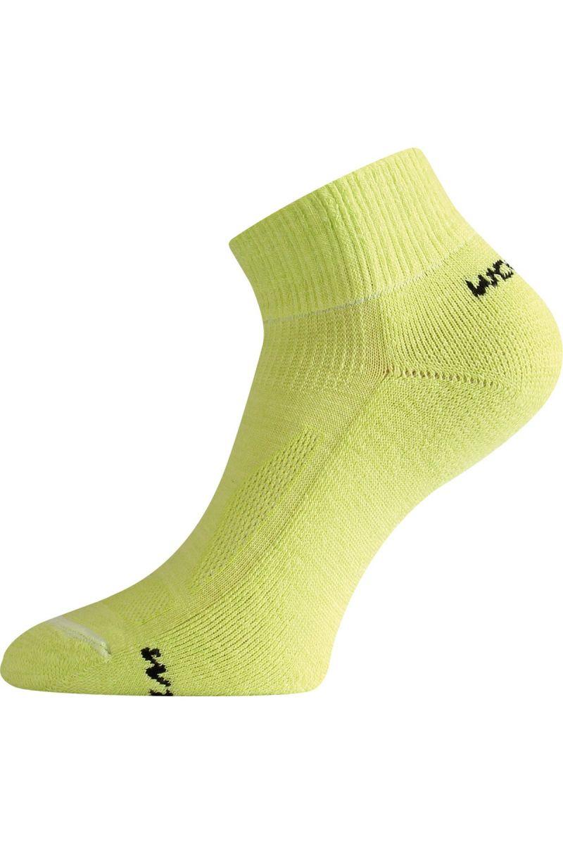 Lasting WDL 609 zelená merino ponožky Velikost: (38-41) M