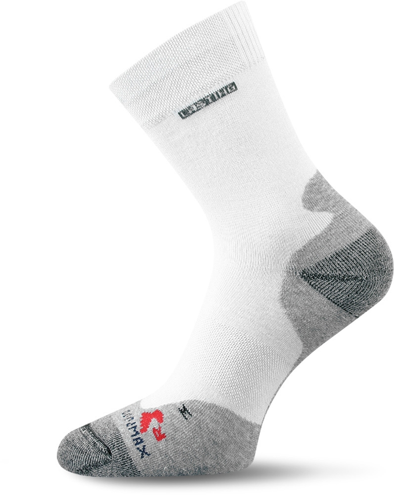 Lasting RNB 001 bílá běžecké ponožky Velikost: (34-37) S možnost vrácení do 12.1.2018