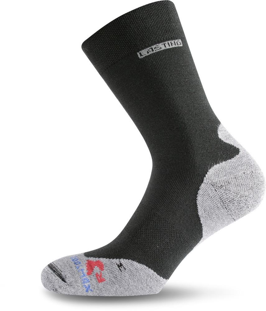 Lasting RNB 900 černá běžecké ponožky Velikost: (34-37) S možnost vrácení do 12.1.2018