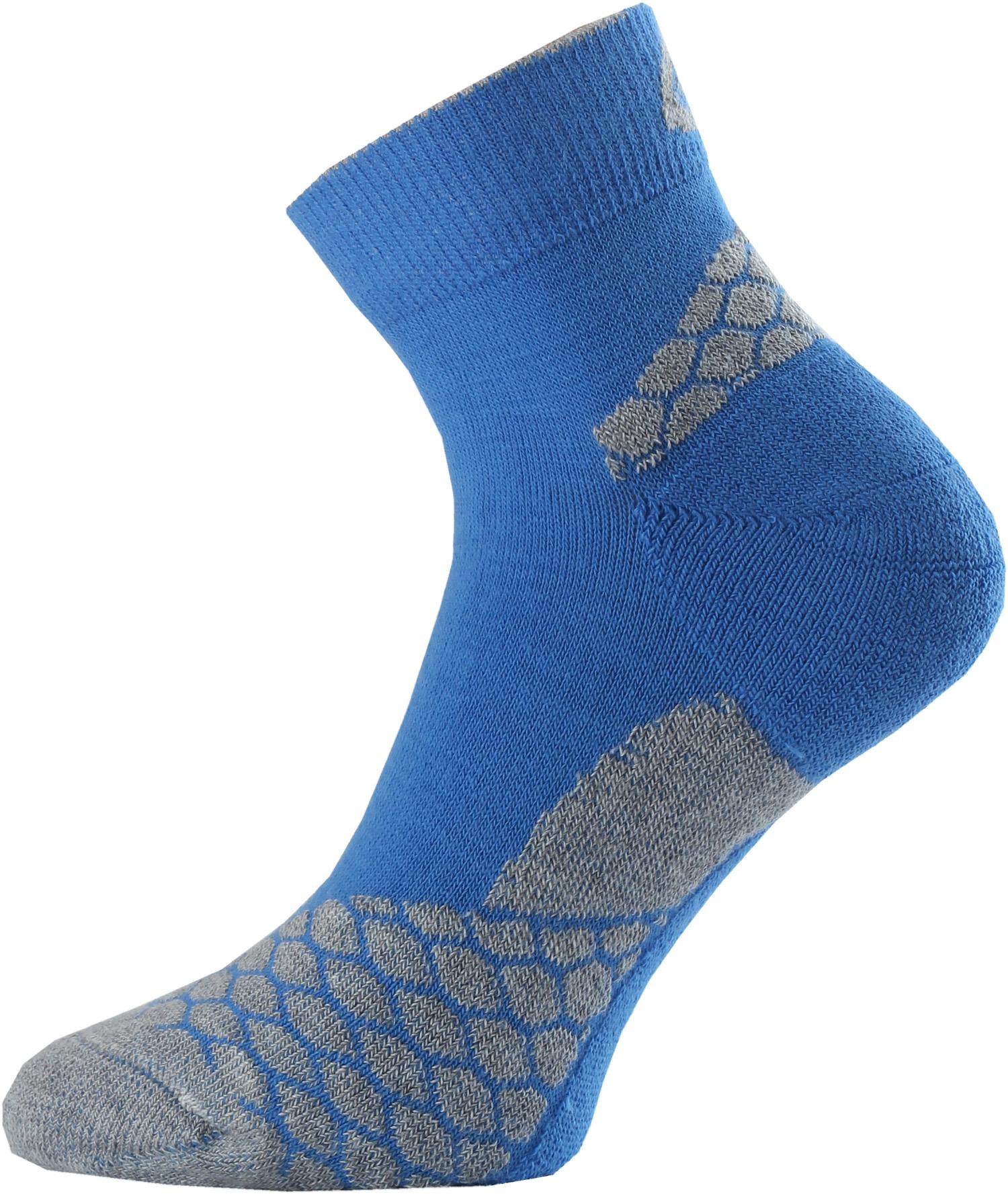 Lasting RON 508 modrá běžecké ponožky Velikost: (34-37) S možnost vrácení do 12.1.2018