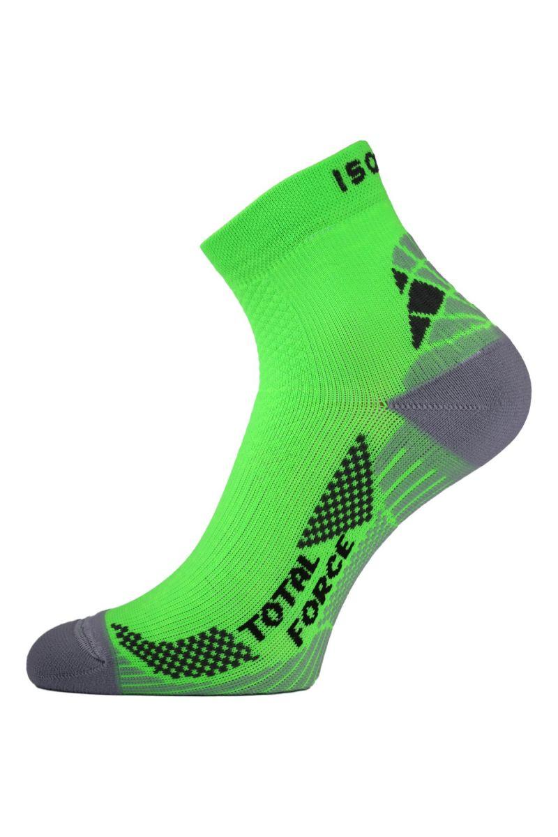 Lasting RTF 601 zelené běžecké ponožky Velikost: (46-49) XL ponožky
