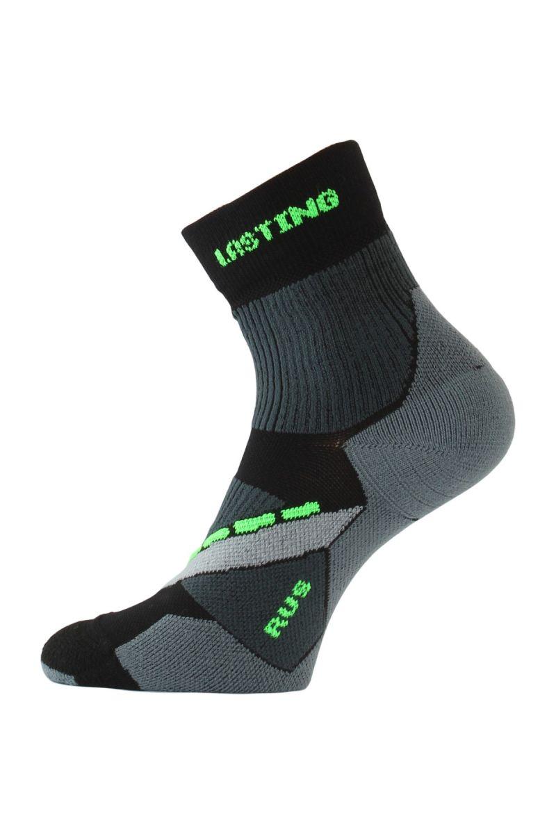 Lasting RUS 908 černá běžecké ponožky Velikost: (34-37) S možnost vrácení do 12.1.2018