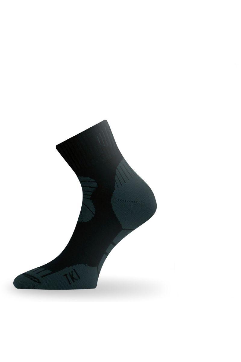 Lasting TKI 908 černá trekingová ponožka Velikost: (38-41) M