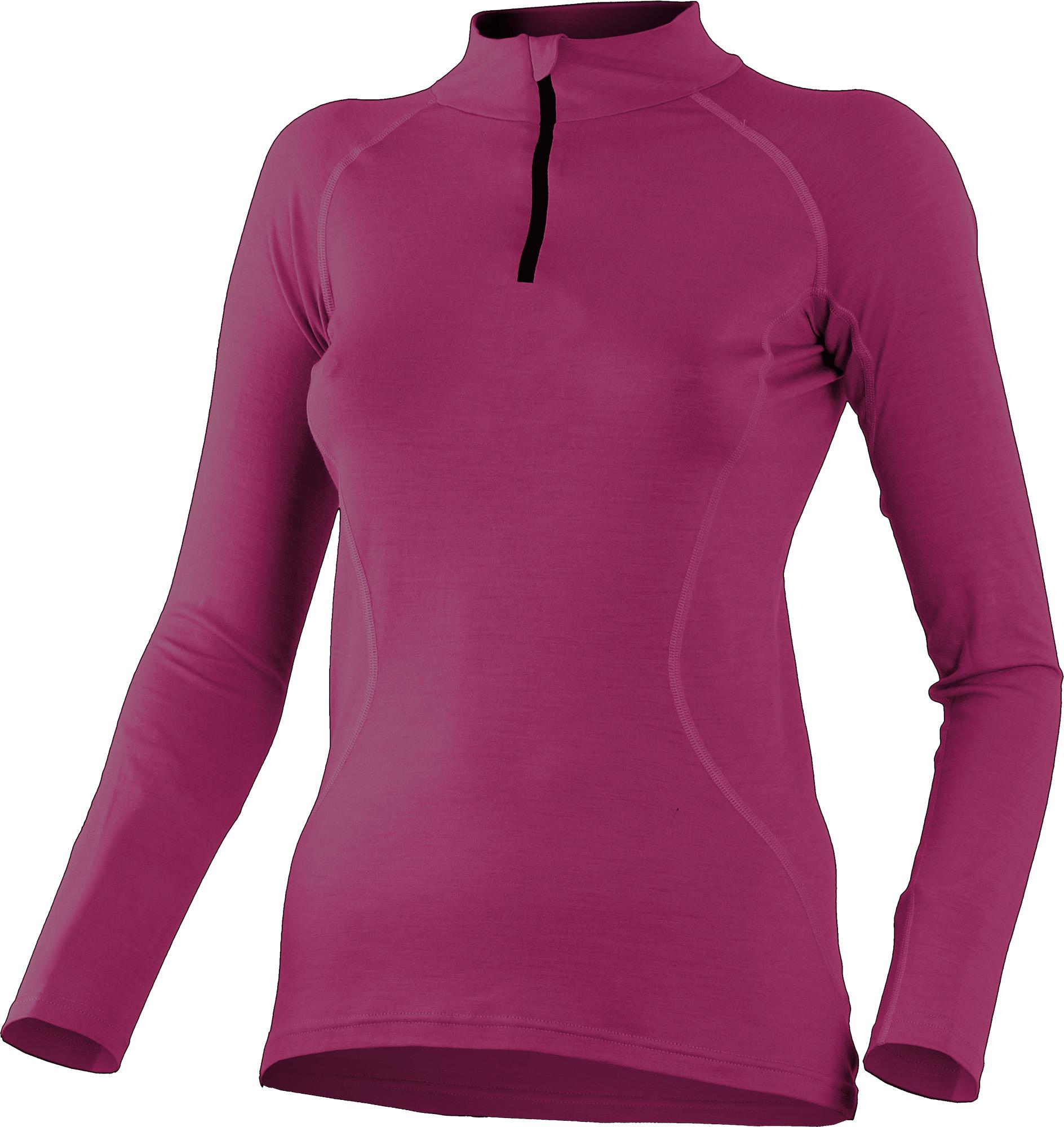 Lasting LISA 4848 růžová Merino triko dámské Velikost: XS