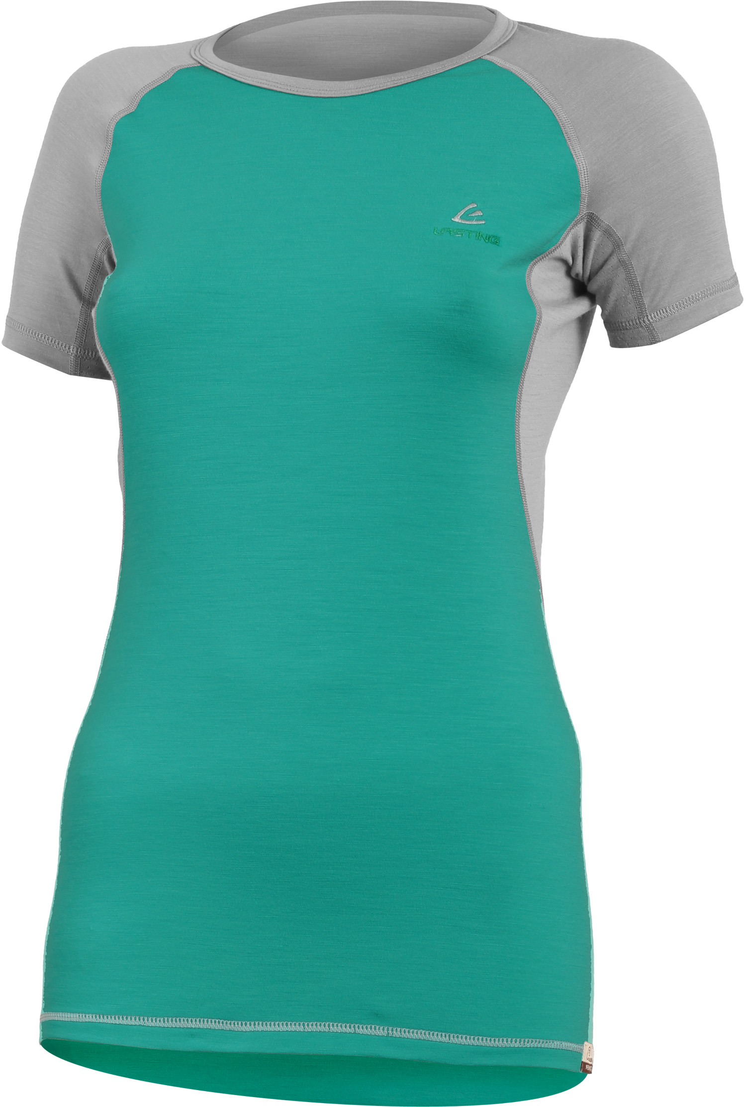 Lasting ZITA 6580 zelená vlněné Merino triko Velikost: XS