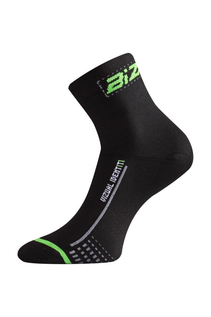 Lasting BS30 966 černá cyklo ponožky Velikost: (38-41) M
