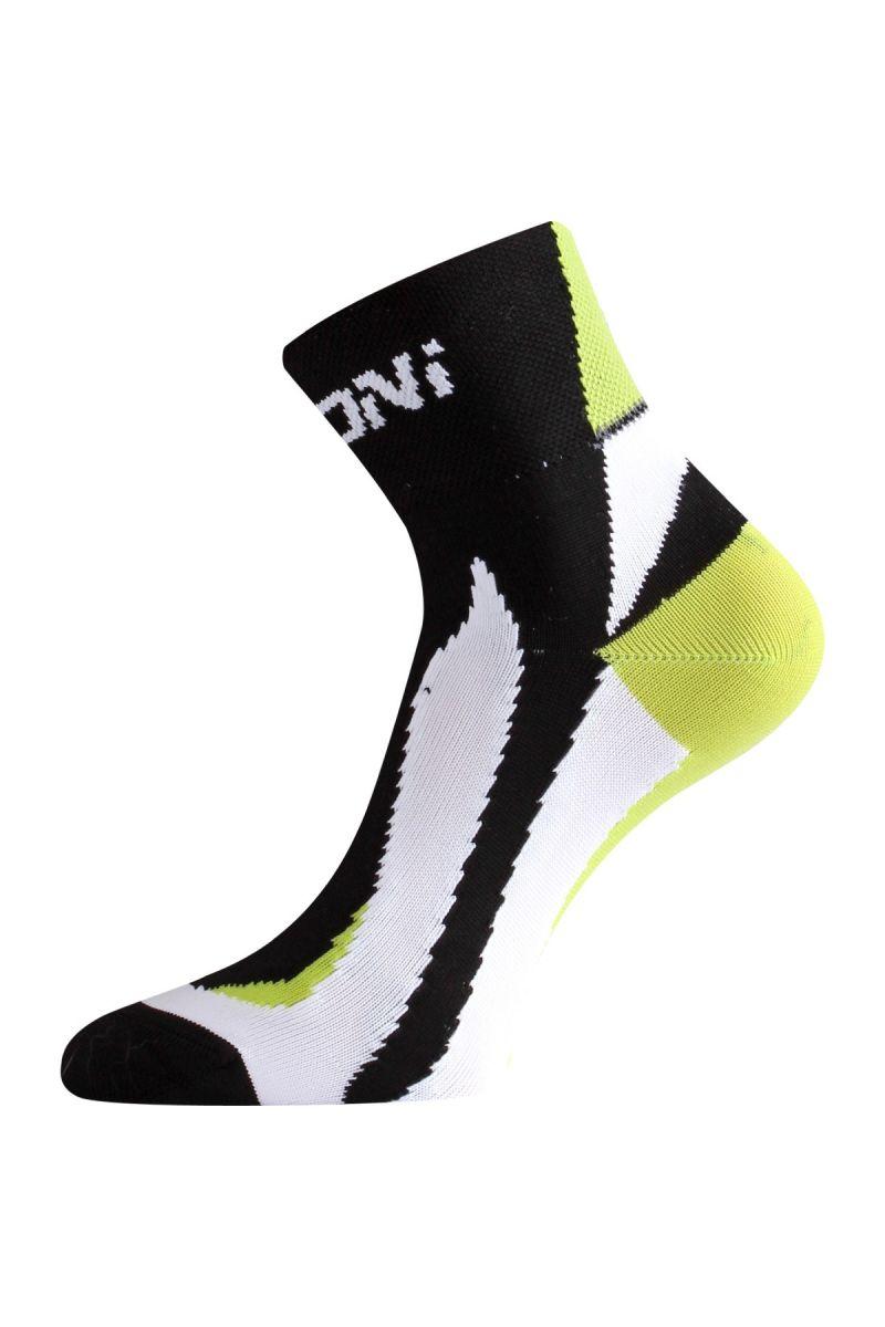 Lasting BS40 963 černá cyklo ponožky Velikost: (46-49) XL