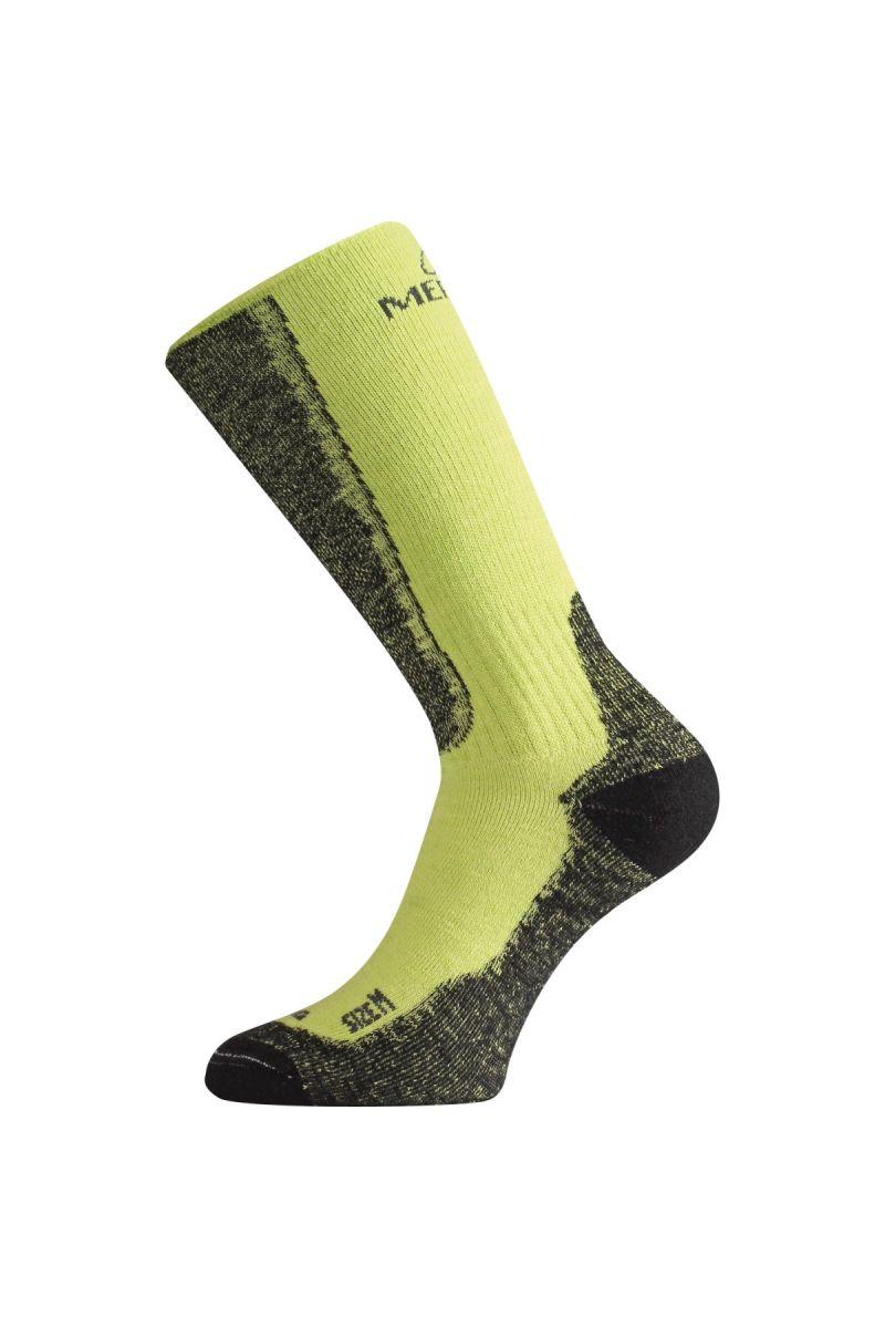 Lasting WSM 689 zelené vlněné ponožky Velikost: (34-37) S