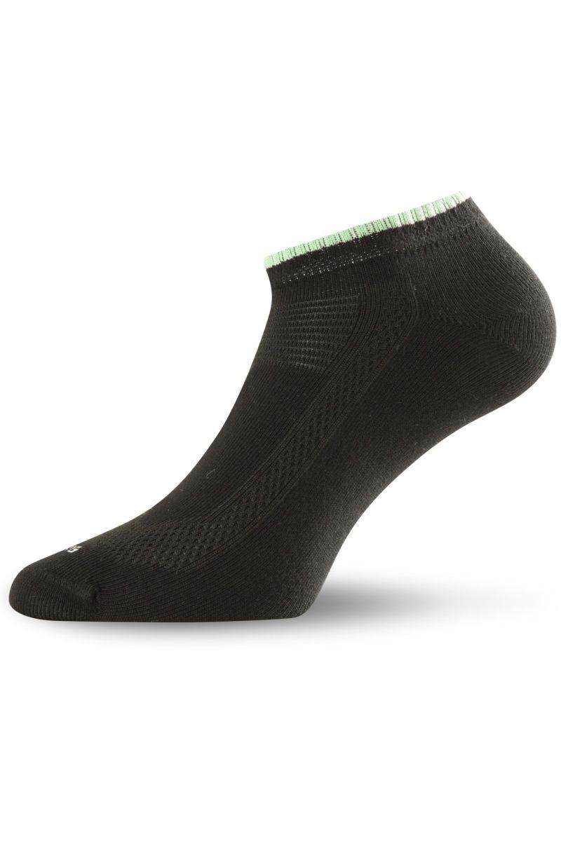 E-shop Lasting ARA-2pár bavlněné ponožky 906 černá
