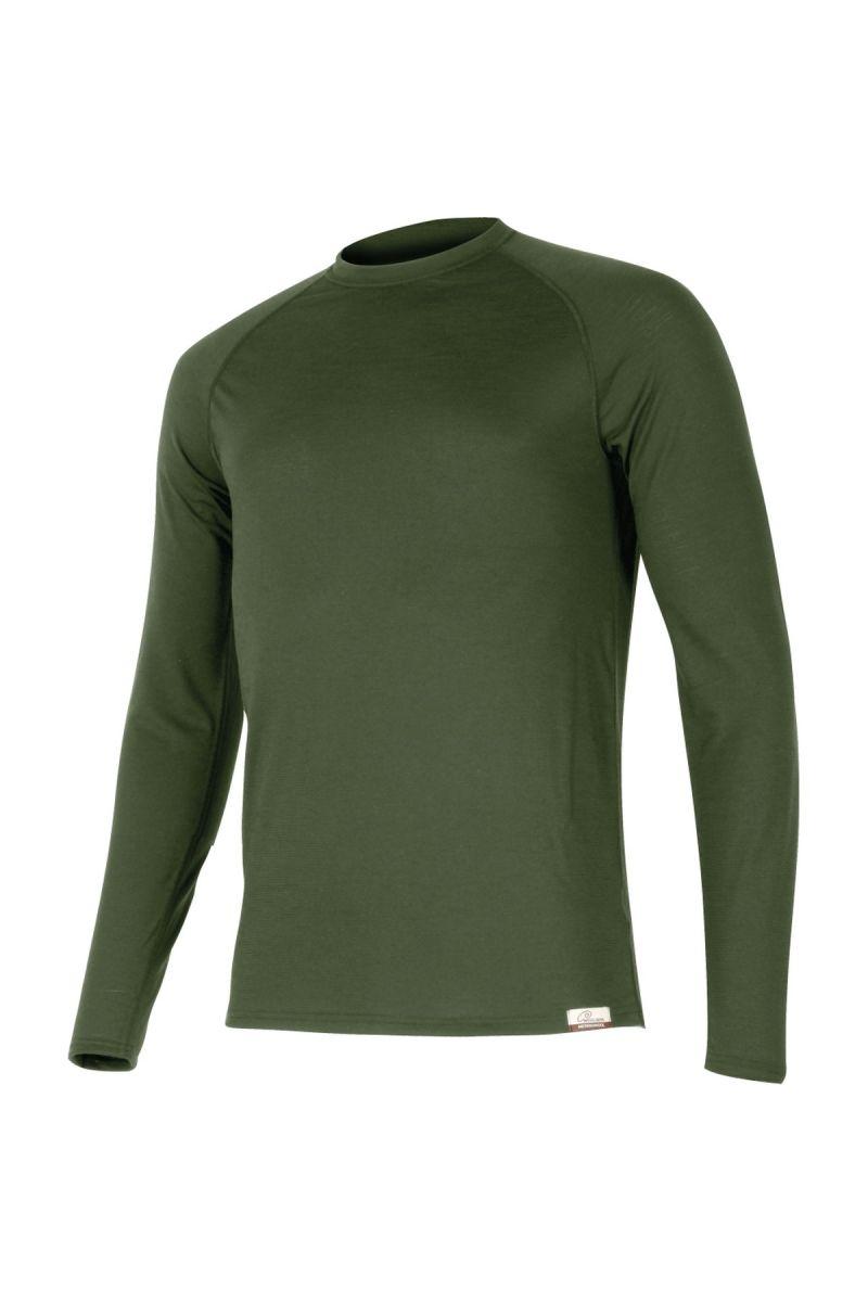 Lasting ATAR 6262 zelené vlněné merino triko Velikost: XXXL
