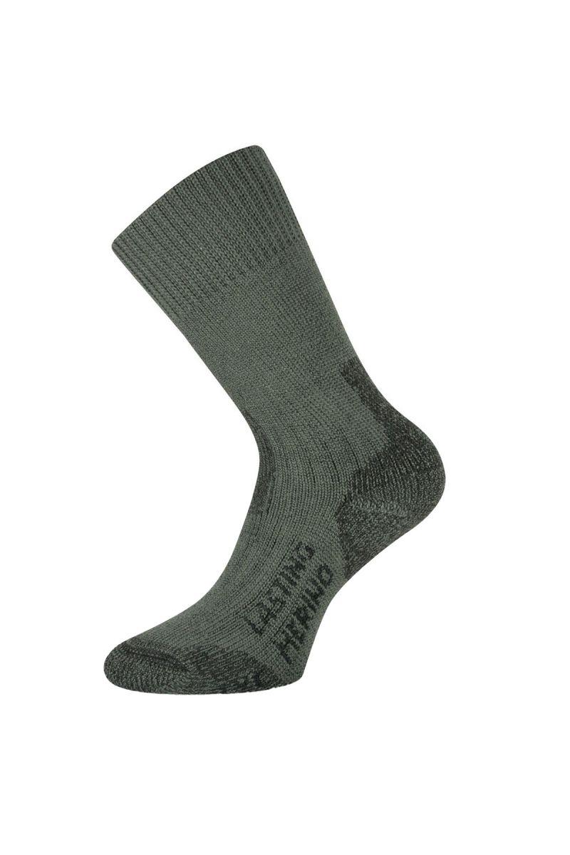 Lasting TXC 620 zelená vlněné ponožky Velikost: (42-45) L