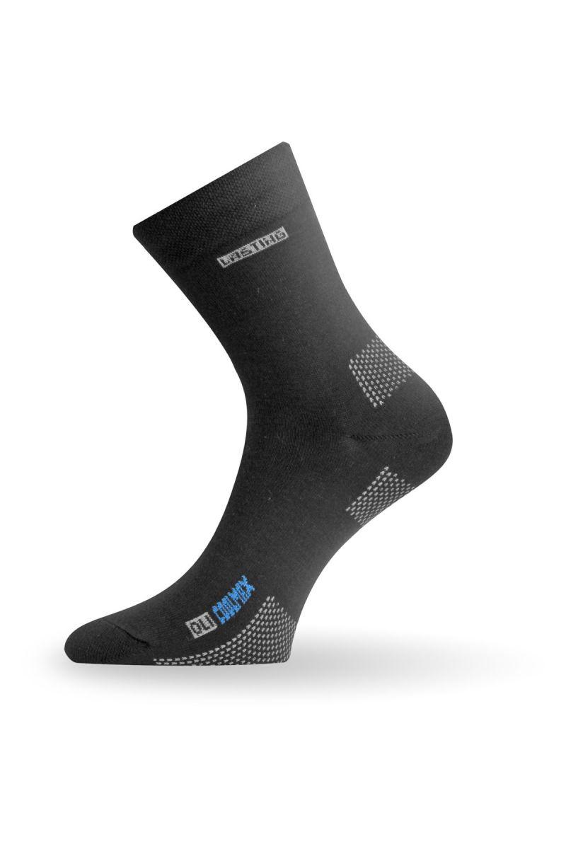 Lasting OLI 900 černé coolmaxové ponožky Velikost: (38-41) M možnost vrácení do 12.1.2018