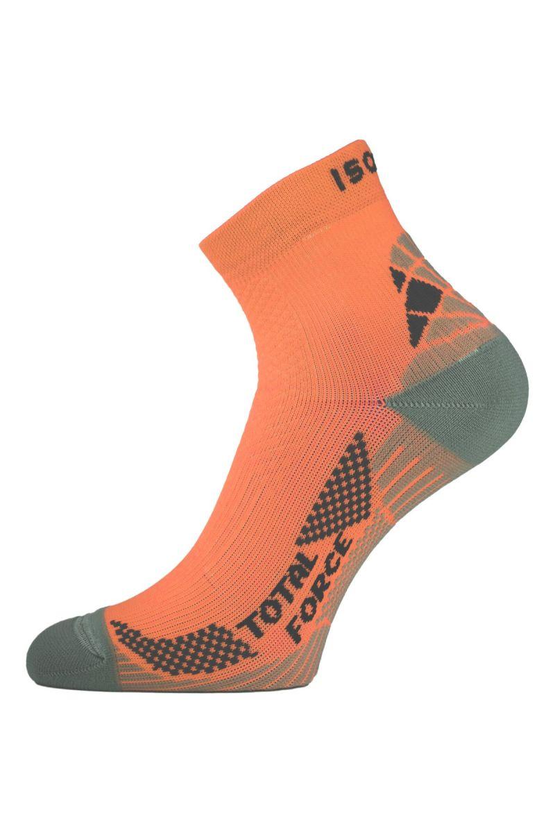 Lasting RTF 200 lososové běžecké ponožky Velikost: (46-49) XL ponožky