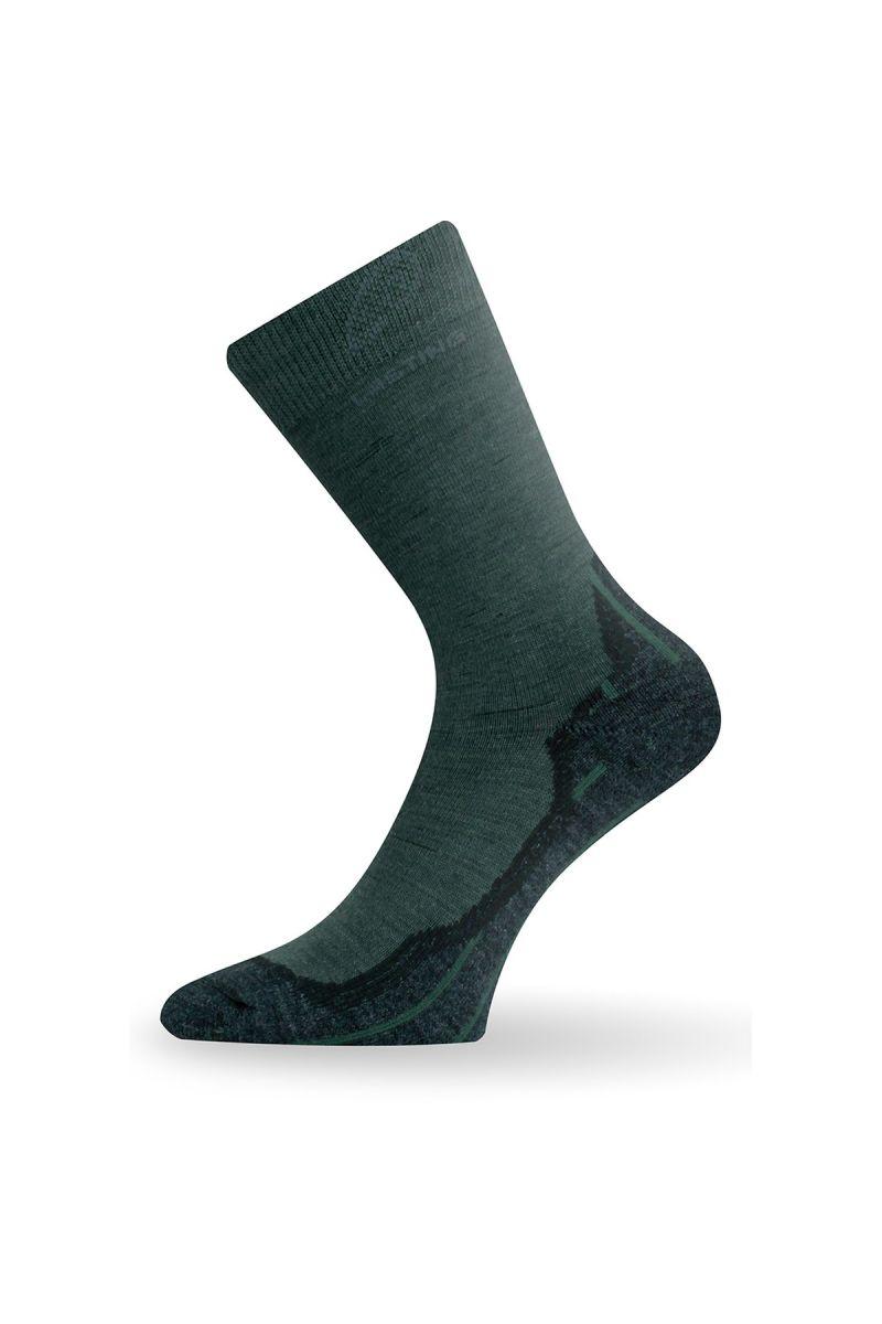 Lasting WHI 620 zelené vlněné ponožky Velikost: (42-45) L