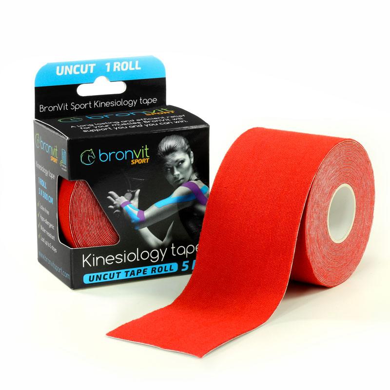BronVit kinesiology tape - červená