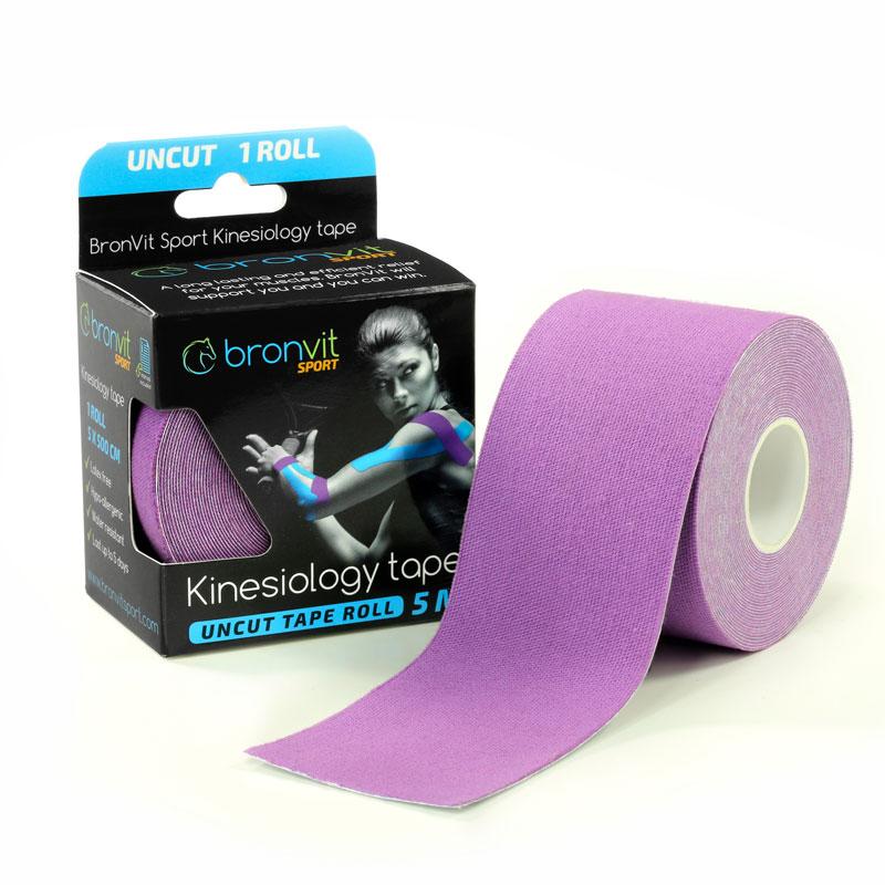 BronVit kinesiology tape - fialová