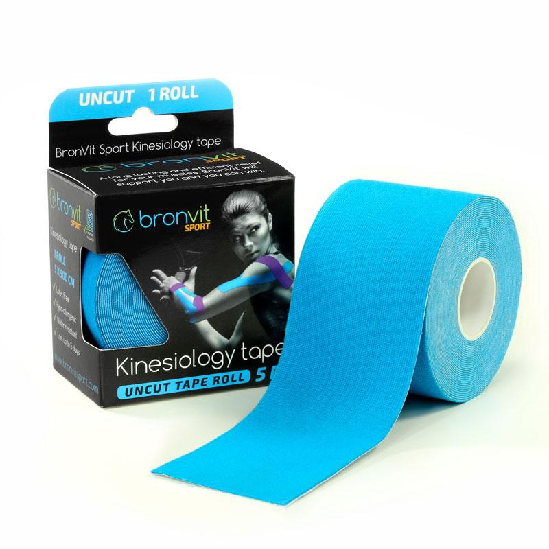 BronVit kinesiology tape - modrá